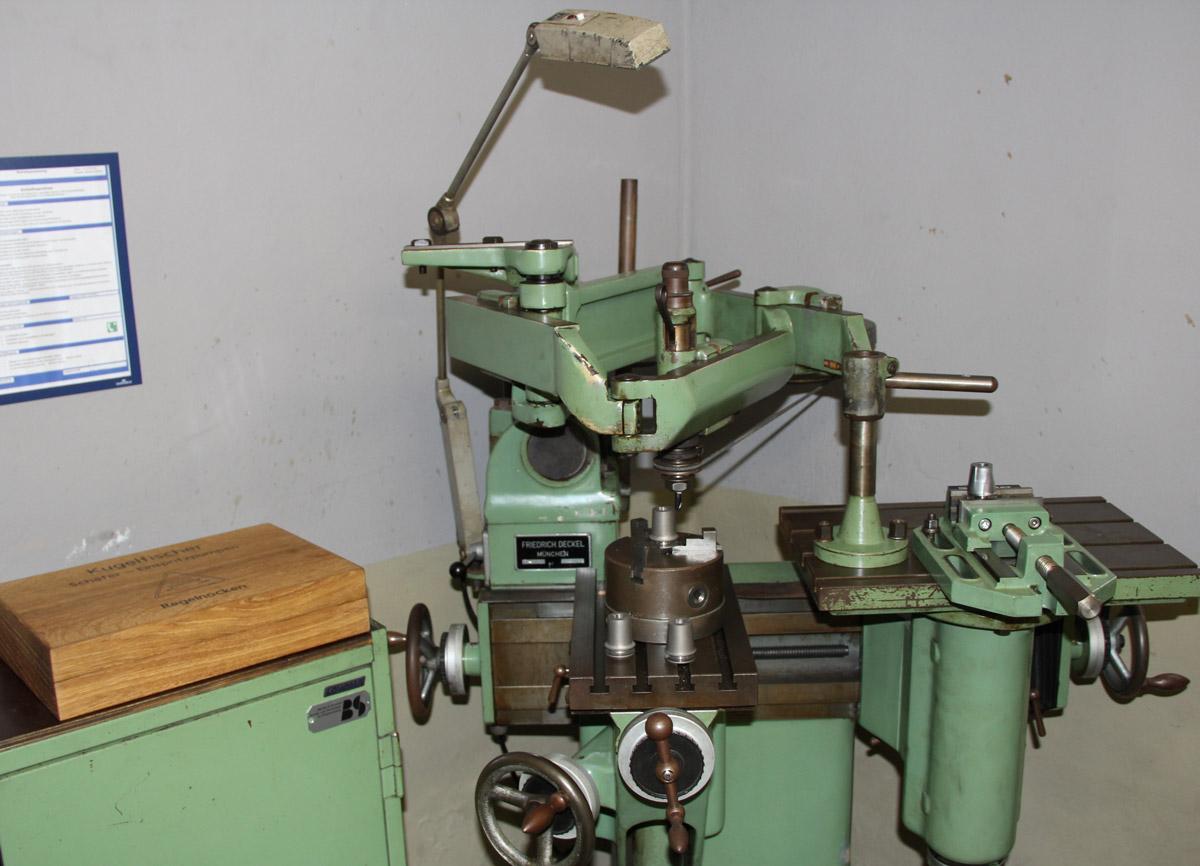 Deckel GK21 Kopierfräsmaschine
